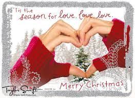 love love love taylor swift postcard christmas ecard