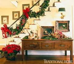 Traditional Home Christmas Decorating Ideas by 352 Best Christmas Staircases U0026 Stairs Banisters Images On