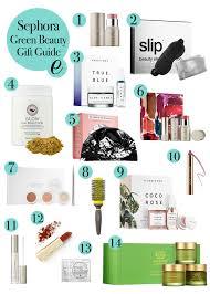 beauty sle box programs sephora green beauty gift guide epicurean emily