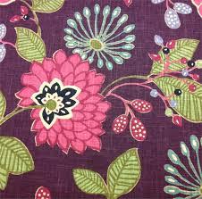 Plum Home Decor by Floral Home Decor Fabric Marceladick Com