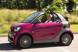 smart car pink smart fortwo cabrio electric drive rijimpressies autoweek nl