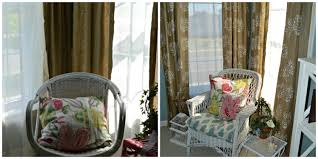 how to upcycle your existing curtains u2013 chernee u0027s house