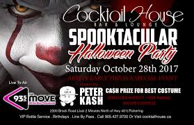 cocktail house spooktacular halloween party 93 5 the move