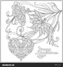 homely ideas valentines day coloring pages for adults valentine