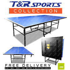 Table Tennis Dimensions Table Tennis Tables Ebay
