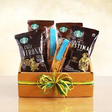 coffee gift baskets starbucks sler coffee gift basket california delicious