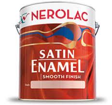 nerolac satin enamel paint for metal surfaces wood masonry