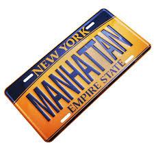 lexus of manhattan service hours amazon com manhattan new york license plate ny car plate nyc