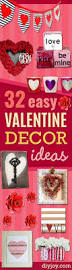Easy Home Decor Ideas 32 Easy Valentine Decor Ideas Diy Joy