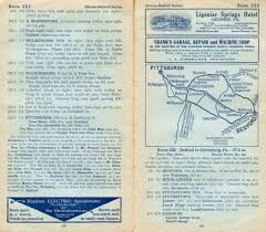 Chicago Trolley Tour Map by Pennsylvania In Old Road Atlases 1911 1920
