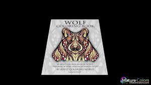 wolf coloring book coloring book wolves featuring 40