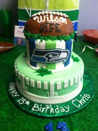 Seahawks Decorations 35 Best Seahawks Cake Images On Pinterest Football Cakes