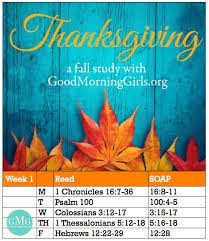 thanksgiving bible study reading plan week 1 onlinebiblestudy