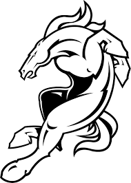 broncos coloring pages itgod me