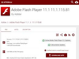 adobe flash player 11 1 for android flash player apk file basel zayed