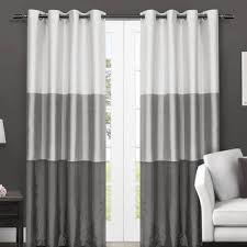 Curtains And Draperies Color Block Curtains U0026 Drapes Shop The Best Deals For Oct 2017