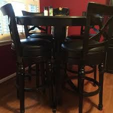 Kitchen Table Swivel Chairs by Best Black Kitchen Table Tall With Tall Bar Stool Chairs That