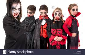 kids face paint halloween costumes isolated stock photos u0026 kids