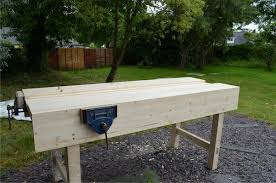 how to build a workbench u2013 intro and laminating the tops part1