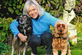 the rescue dog that filled a hole in my life u0027 sue barker reveals