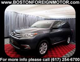 toyota highlander used 2012 2012 used toyota highlander 4wd 4dr v6 limited at boston foreign