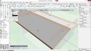 podcast 206 creating a butterfly roof in vectorworks