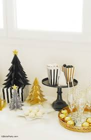 my black u0026 gold christmas party tablescape holiday tablescape