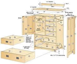 Free Wood Craft Plans by Dresser Blueprints Arts And Crafts Dresser Woodworking Plan