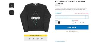 kitesista limited edition series 01 only available for 14 days