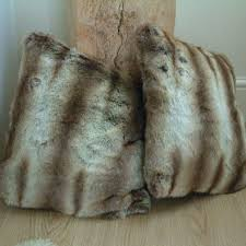 Pottery Barn Faux Fur Pillow Faux Fur Covers Diy Faux Fur Chair Covers And Cushions A Beautiful