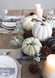 7 stunning fall centerpiece ideas setting for four