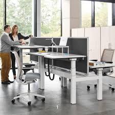 Height Adjustable Desk by Ology Height Adjustable Bench Desks Hunts Office Furniture