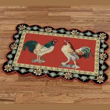 Rooster Runner Rug Dining And Kitchen Area Rugs Touch Of Class