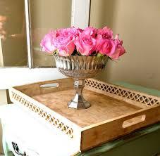 Silver Vases Wedding Centerpieces Mercury Glass Vase Wedding Centerpiece Pedestal Vase Silver