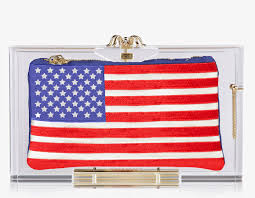 Charlotte Flag Chic Inspector Charlotte Olympia Pandora Clutch Boxes To