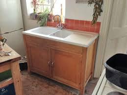 free standing kitchen sink units kitchen small kitchen sink units awesome habitat wood freestanding
