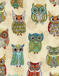 timeless treasures a funky owl thanksgiving
