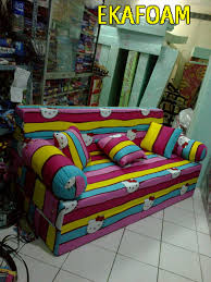 Sofa Bed Anak Murah Sofabed Inoac Motif Hello Kity Pelangi 07 04 2014 Agen Resmi