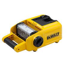 dewalt 20v area light dewalt dcl060 18v 20v max cordless led work area light torch