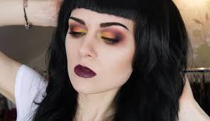 Sorceress Makeup For Halloween by Dark Sorceress Eyes Youtube