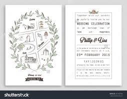 wedding design invitation white rectangle potrait beautiful
