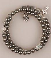 rosary bracelets direct from lourdes memory wire rosary bracelets