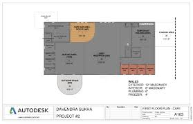 Cafe Floor Plan by Floor Plan Cafe Davendra Sukha