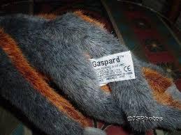 21073 by Russ Berrie Gaspard Monkey Plush 21073 Handmade 11 Inch Jadees