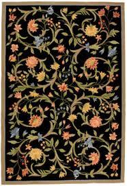 black floral rugs at rug studio
