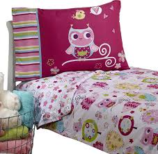 crown crafts infant products owls toddler bedding set hoot hoot