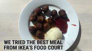 cuisine ik2a we tried the best meal you can get at the ikea food court