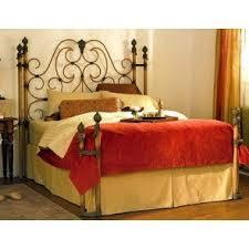 shop wesley allen open toe iron beds at carolina rustica