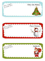 printable christmas gift vouchers awesome christmas holiday gift voucher template exle with 3