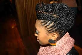 nigeria women hairstyles african dazzle magazine black hair ponytail hairstyles medium